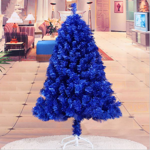 Christmas New Year Essential 1 2 M 120cm Navy Blue Christmas Tree Decorations Christmas Gifts Holiday Decorations Supplies Decorating House For