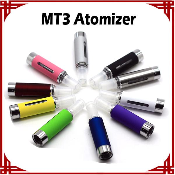 [ big sale ] Evod MT3 Atomizer Clearomizer evod BCC MT3 vaporizer 2.4ml Bottom Coil Tank Cartomizer for EGO EGO-C EGO-W EGO-T E-Cigarette