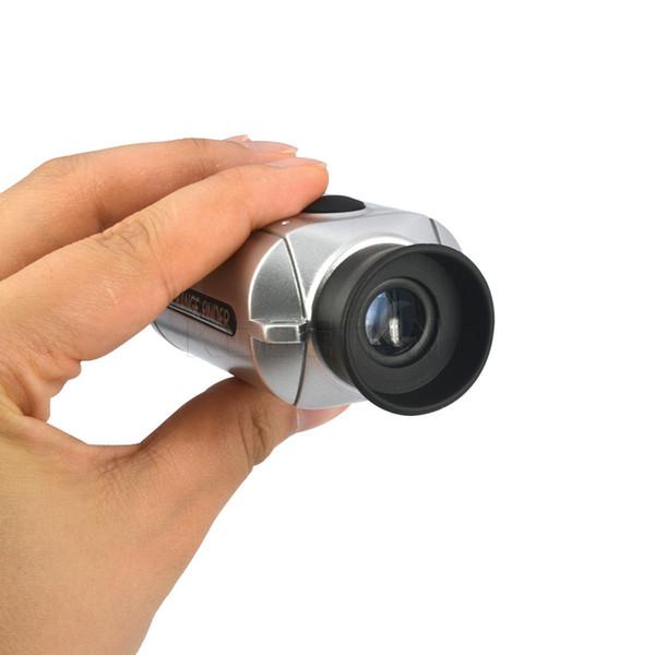 Misuratore di distanza laser all'ingrosso Telescopio digitale Pocket7xGolf Range Finder caccia telemetri monoculari campo Golfscope Yards Misura