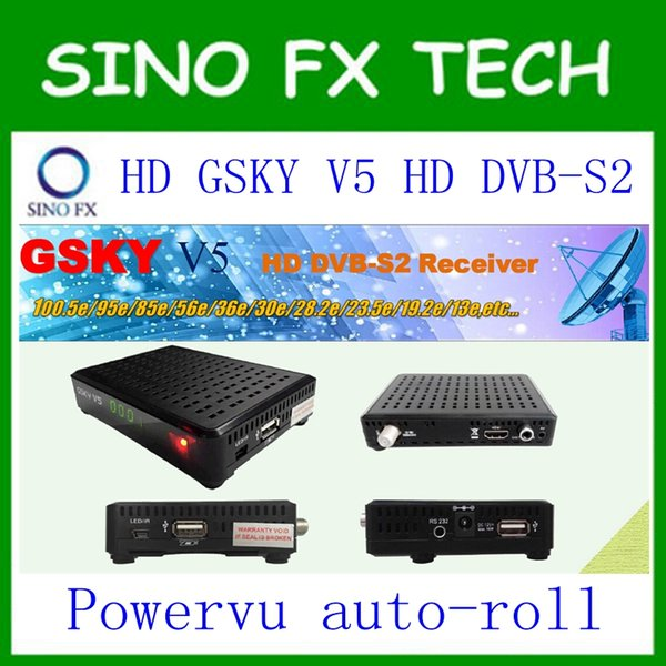 2018 Free Ship Powervu Decoder Hellobox V5 Full Hd Power Vu Satellite  Decoder Apstar 776 5E,Intelsat 2068 5E In Asian,Africa,Europe Canada 2019  From