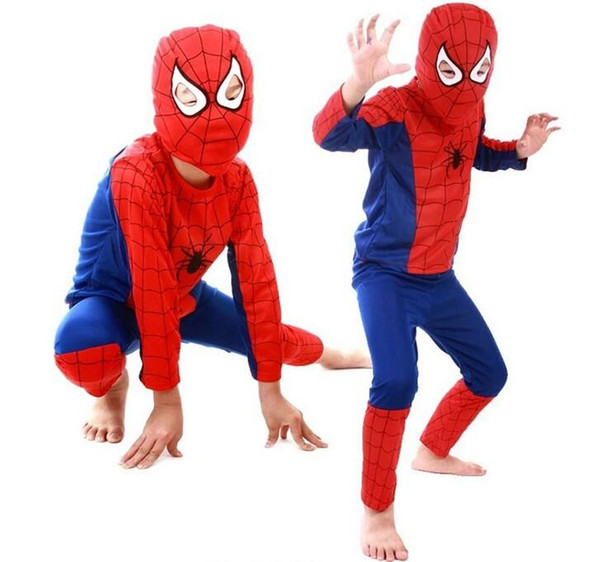 5 color Spiderman Superman Batman Zorro Halloween Costume Suits Kits Kids BABY long sleeve superhero costume  sc 1 st  DHgate.com & Spiderman Superman Batman Zorro Halloween Costume Suits Kits Kids ...