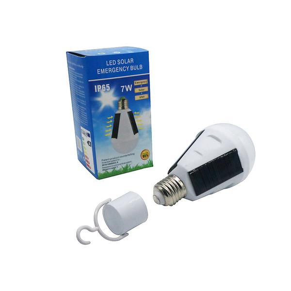 best selling Umlight1688 Solar Panel Light Bulb LED Powered Light Portable Waterproof Emergency Light Bulb 7W 12W 1200mAH White