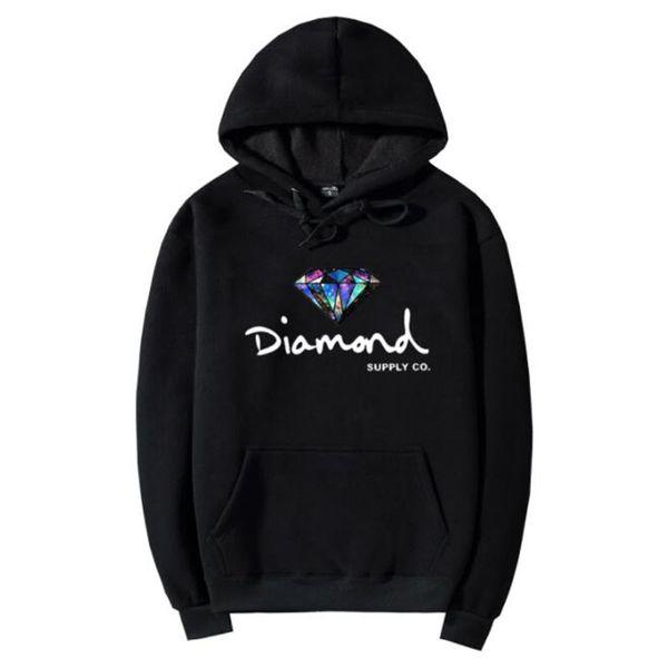 Mode Diamant Versorgung Co Männer Hip Hop Hoodies Sudaderas Hombre Männer Sweatshirt Mit Kapuze Skateboard Pullover Moleton Masculino