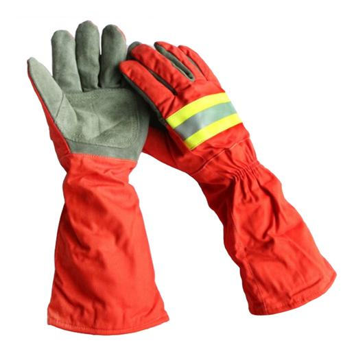 best selling Steam Proof Heat Insulation Gloves Flame Retardant High Temperature Resistant Leather Gloves