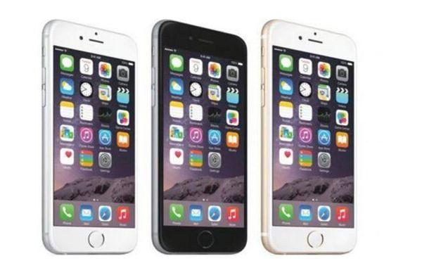 Unlocked Orijinal Apple iPhone 6 Artı destek parmak izi 16 GB 5.5 Ekran IOS 8 3G WCDMA 4G LTE 8MP Kamera yenilenmiş Cep Telefonu