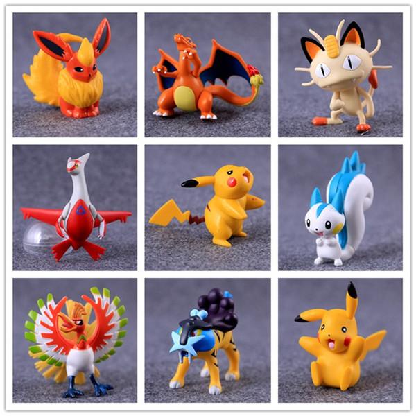 Acheter Figurines Jouets De Dessin Animé Pour Enfant Poupée Petite Figurine Jouet Jeu Petit Classique Pikachu Livraison Gratuite B0700 De 3 1 Du