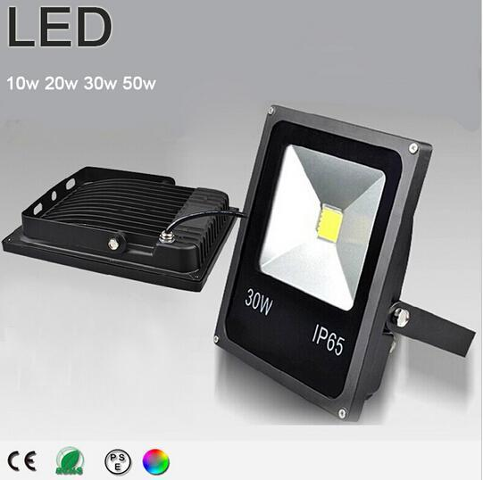 Super bright Led flood light 10W 20W 30W 50W 70W IP65 spotlight refletor led floodlight RGB projecteur led exterieur spot energy saving lamp