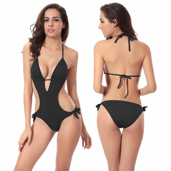 One piece Bathing Suit Vintage Tankini Push up One piece Bandage Swimwear For Women Sexy Swimsuits Monokini 8 Colors Swimming Costume