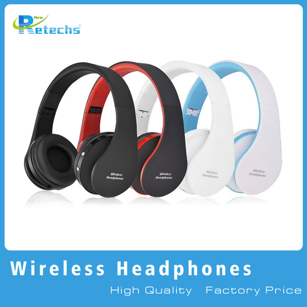 best selling 2016 New NX-8252 Foldable wireless headphone bluetooth headphone headset sports running stereo Bluetooth V3.0+EDR with retail packaging dhl