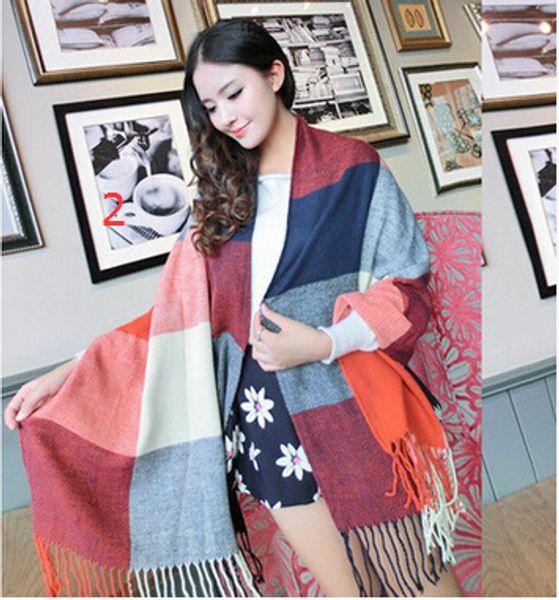 Wholesale Women's Pashmina Scarf Shawl Cashmere ponchos wrap Ladies Womens shawl Scarves 9 pcs/lot