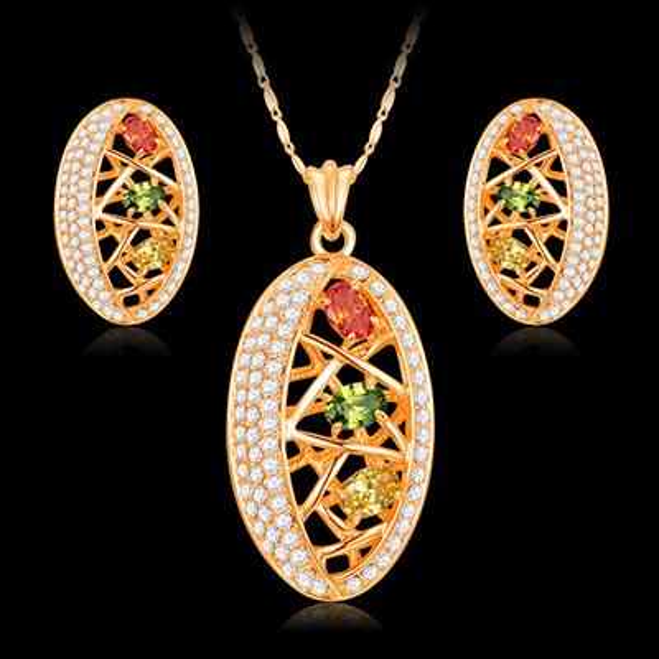 18k gold jewelry sets