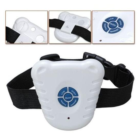 41g Dog Collar Training Anti Bark Stop E-collar with Ultrasonic Beep Big Discount For all sizes Dogs Free Shipping