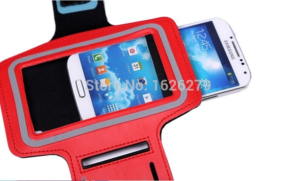 Wholesale-High quality Sports Running Armband Case Workout Armband For G3 D855 / G4 / G3 Cat.6 / G3 Stylus Mobile Phone Arm Bag Band