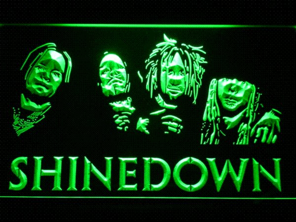c204 Shinedown LED Neon Sign with On/Off Switch 7 Colors to choose Cheap light power