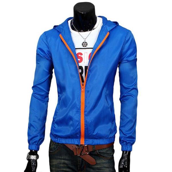 Wholesale- Spring 2017 Man Men Trench Coat Overcoat Windbreaker Raincoat Waterproof Parka Trench Blazer Outwear Coat Jacket Sobretudo