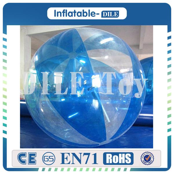 half blue clear
