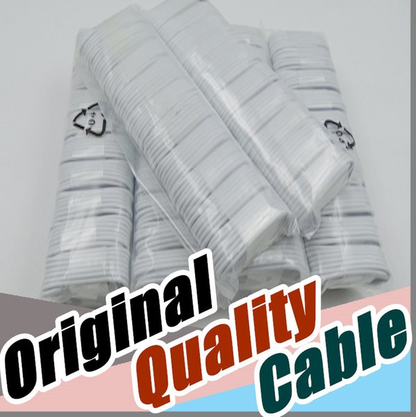 DHL A++++ Original OEM Quality USB Cable Data line Light Cords Adapter Charger Wire Charger Wire for I phone 5 6 7 8/ 1M 3FT