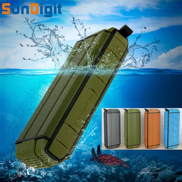 Altoparlanti bluetooth di alta qualità impermeabile Sundigit all'ingrosso di alta qualità Subwoofer portatile senza fili di vibrazione che gioca l'altoparlante sotto l'acqua