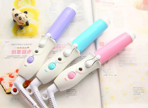 2016 Mini Pelo Curling Iron Wand Curling Irons Electronic Wand Curler Crimper Styling Herramientas Peinados Productos