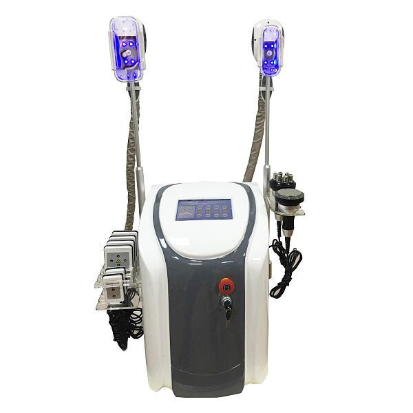 Professional cryolipolysis fat freezing slimming machine 2 cryo handles cool body sculpting cryolipolysis ultrasound cavitation rf lipolaser