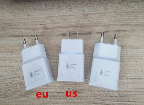 For Samsung Adaptive Fast Charging Wall Charger adapter EP-TA20JWE Original Quality OEM US EU UK Plug For Galaxy S8 S7 Edge Note 8 J7 prime