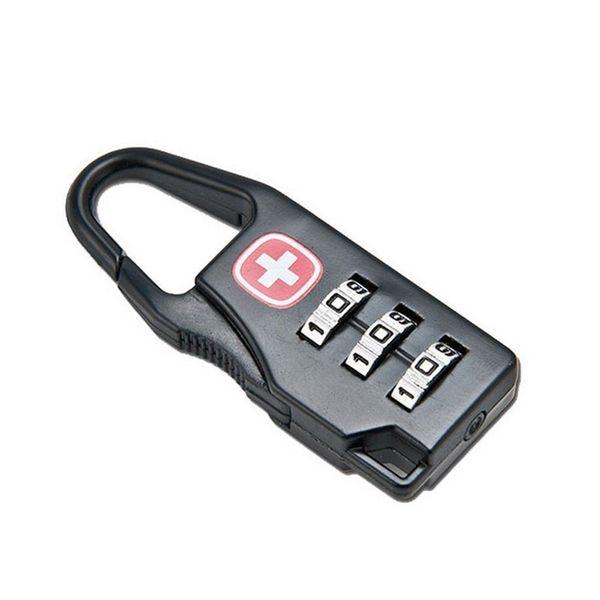 1000pcs Door Combination Code Lock Latch Security Digital Padlock Cross Symbol Luggage Backpack Cabinet Armoire Zipper Bag