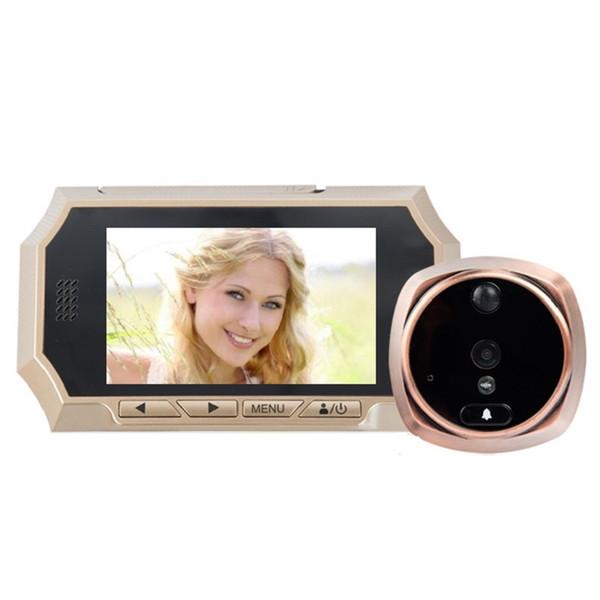 4.3inch spioncino porta digitale IR Night vision PIR Motion Sensor electrical peephole Photos Taking Video Recording Max 32GB