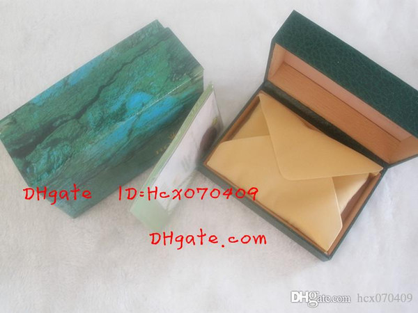 Green With Original Watch Box Papers Wallet Boxes&Cases Luxury Watches