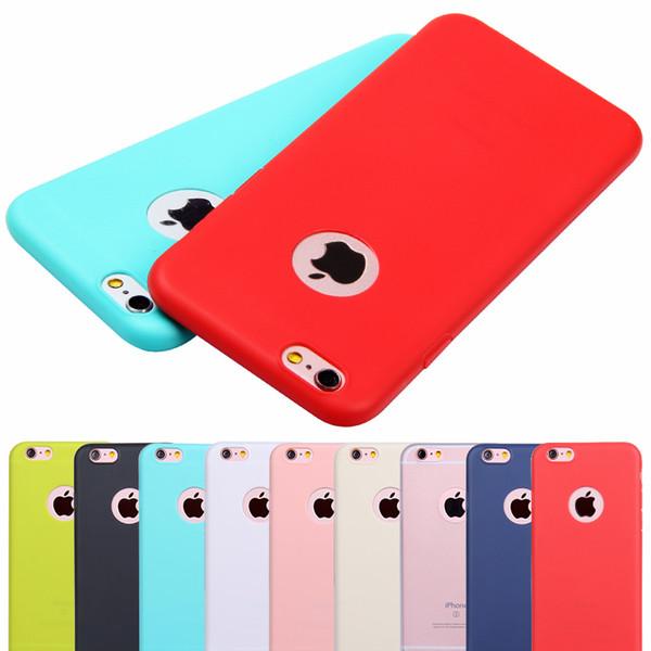 Großhandels-Netter Süßigkeit-Farben-Kasten für iPhone 5 5S SE Abdeckung Weiche Silikon-Rückenhaut-Telefon-Beutel Coque für ich Telefon 5 5S Fälle Schutzhülle