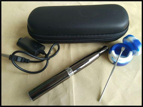 rig wax vaporizer pen electronic cigarette deep bowl ceramic quartz coil heating vape pen kit puffco pro wax oil smoking set