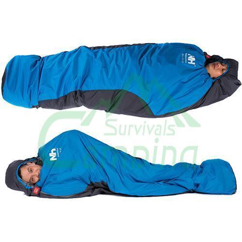 Ultra hafif Mumya Zarf Uyku Tulumu Açık Seyahat Yürüyüş Kamp Taşınabilir