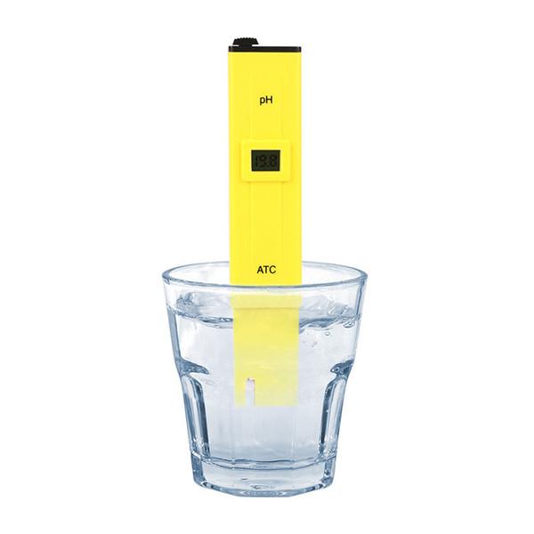 top popular Digital PH Meter Pen Tester Water Hydroponics Pocket Pen Testers Aquarium Pond Pool Test Protable new in stock 2021