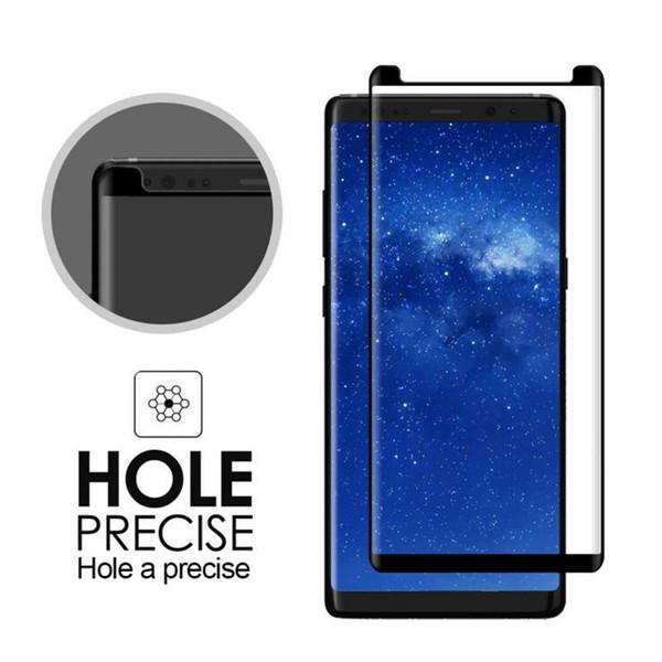 Pellicola protettiva per schermo in vetro temperato per Samsung Galaxy Note 8 Pellicola protettiva per protezione totale temperata