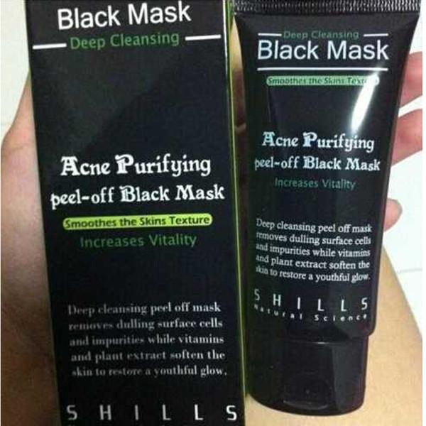 top popular SHILLS Deep Cleansing Black MASK 50ML Blackhead Facial Mask 2020