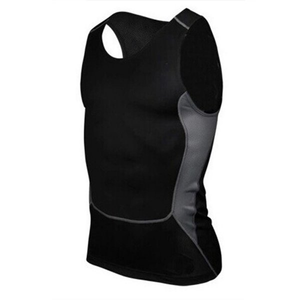 Großhandels- Männer Compression Tight T-Shirt Basisschicht Fitness Workout Weste Tank Tops S-XXL