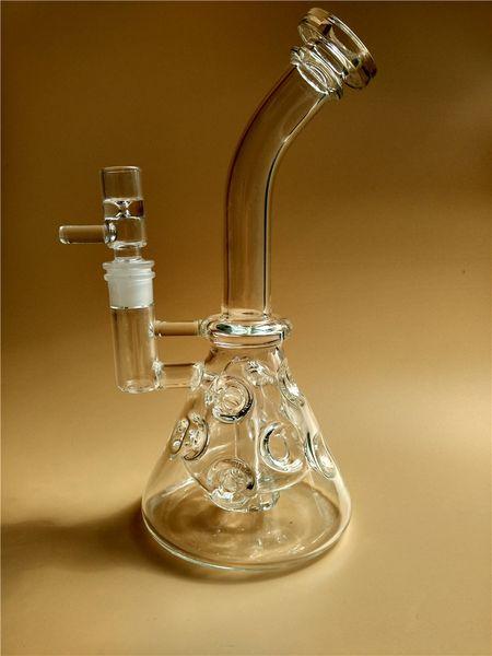 2016 ball Fab egg Glass Bongs Matrix perc Smoking water Pipes Dab oil Rigs Bong 2 Function Beaker Base bongs Shisha Hookahs free shopping