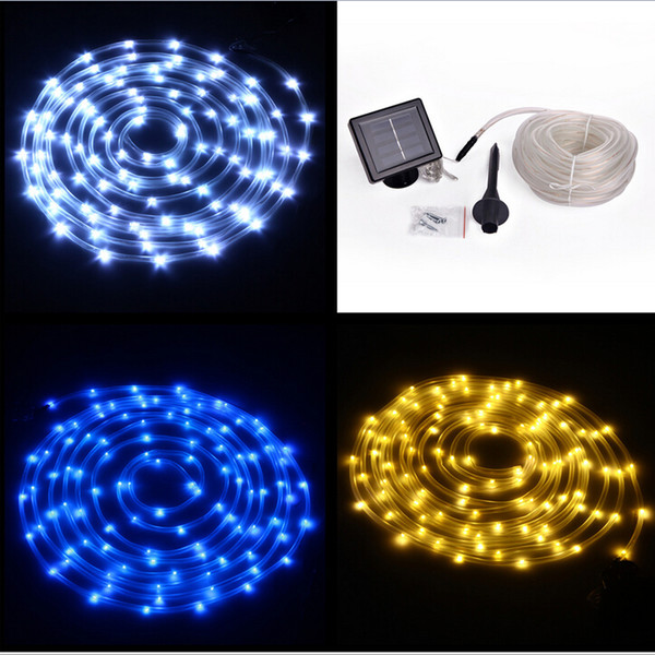 2018 12m 100 led led solar rope light string light neon rope tube 12m 100 led led solar rope light string light neon rope tube light square solar panel mozeypictures Image collections