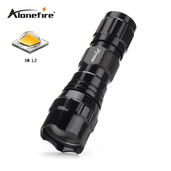 501A Mini LED Flashlight CREE L2 Waterproof Lanterna LED Torch for 16340 CR 123A battery Flashlight Linterna led