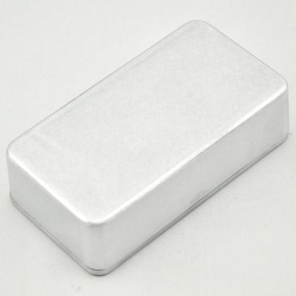 5 Pz / lotto 1590B / PB-N1160 Effetti di stile pedale in alluminio Stomp Box recinzione per chitarra,