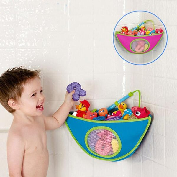 SOZZY bathroom corner bath toy bag for children finishing pouch finishing bags swim toys storage baby products WJ260
