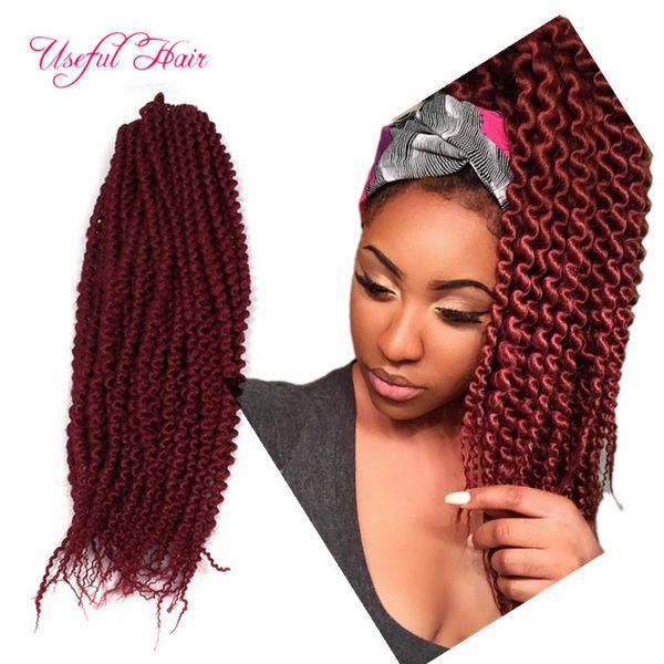 "best selling 24"" Island Twist Pre-loop crochet Braids Freetress Synthetic Hair ISLAND TWIST gogo curl yaki straight bouncy twist RINGLET-WAND-CURL"