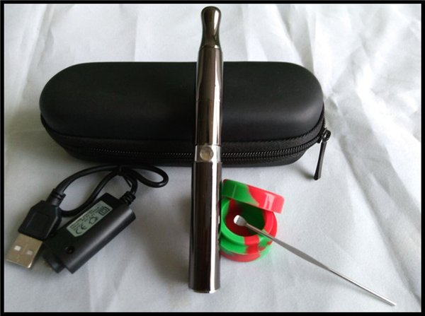Dank Vape Pro Pen with carrying case, USB charger, & silicone jar for wax concentrate smoking e solid burning deep bowl vaporizer