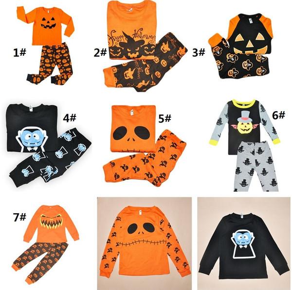 2018 2017 Halloween Children Clothing Set Tracksuit For Boys Girls ...