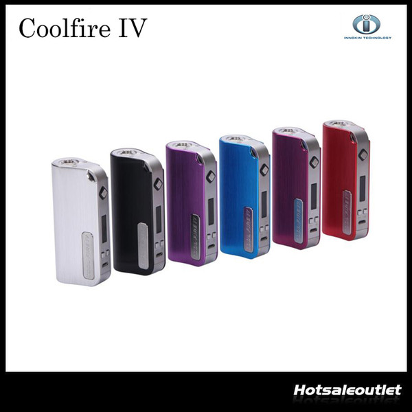 2015 Innokin CoolFire IV 40W Battery Mod Cool Fire IV Express Kit 2000mah Innokin Coolfire 4 Box Mod 2201044 100% Authentic
