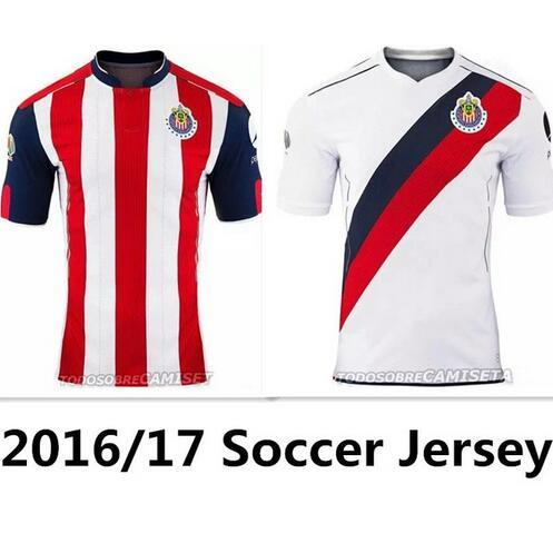 sale retailer dcc14 131cd 2019 16 17 Chivas Guadalajara Deportivo Soccer Jerseys O.BRAVO Mexico  Chivas 2016 2017 Home Away 3rd Soccer Jersey Football Shirt From  Top_jersey, ...
