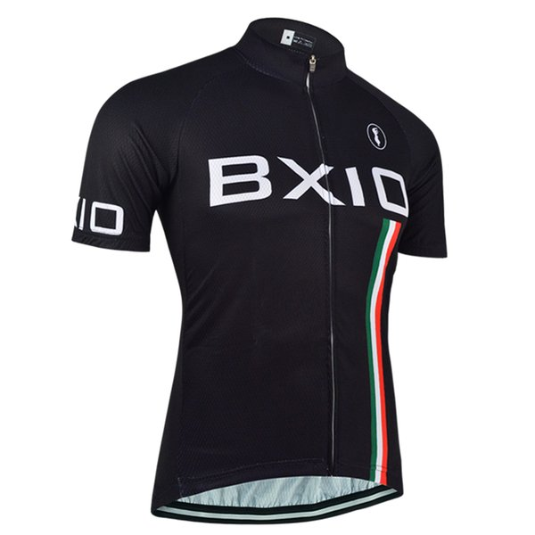 BXIO Marca Camisa de Ciclismo Homens 3 Bolsos Traseiros Ropa ciclismo Camisa de Ciclismo de Qualidade Pode Ser Roupas de Bicicleta Por Atacado Só Camisa BX-095