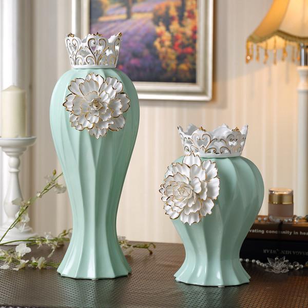 nueva cermica y porcelana hechos a mano china jarrones artculos de decoracin de lujo mejor regalo