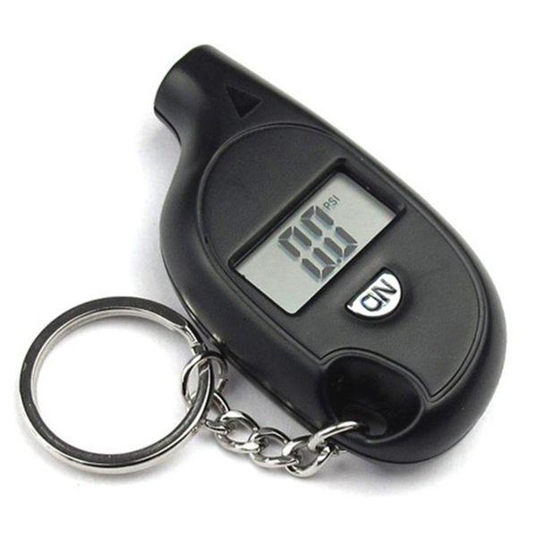 Indicatore digitale di pressione dello schermo LCD portachiavi Display digitale universale di pressione dello pneumatico per auto Truck Bike