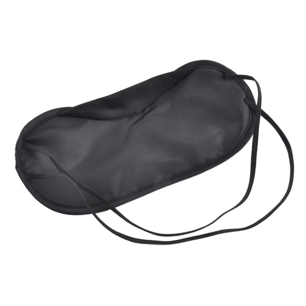 top popular 2500PCS High Soft Eye Mask Shade Nap Cover Blindfold Sleeping Travel Rest Christmas gift 2019