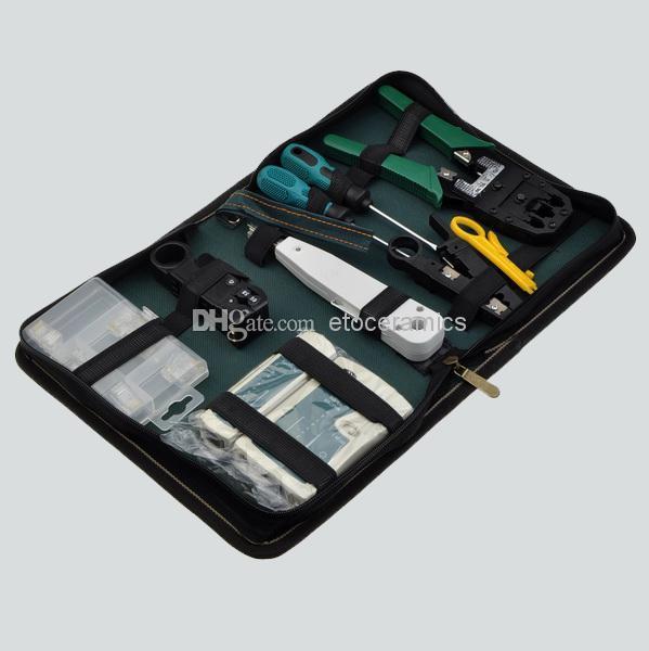 Wholesale RJ45 RJ11 RJ12 CAT5 LAN Network Tool Kit Cable